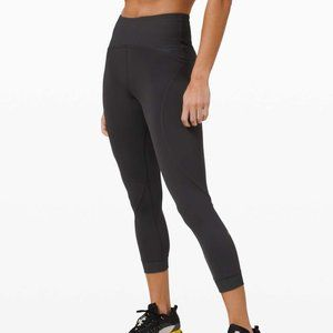 NEW Lululemon Train Free High Rise Crop 23""